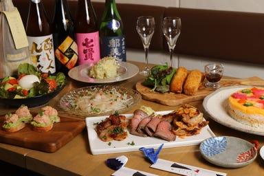 日本酒バル&カフェ 坂ノ下ノオリゼ  コースの画像