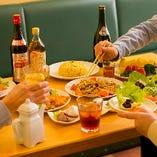 昼飲み&昼宴会、大歓迎です!