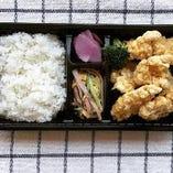天盛り弁当/野菜炒め弁当