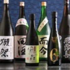■常時20種類前後の日本酒ご用意