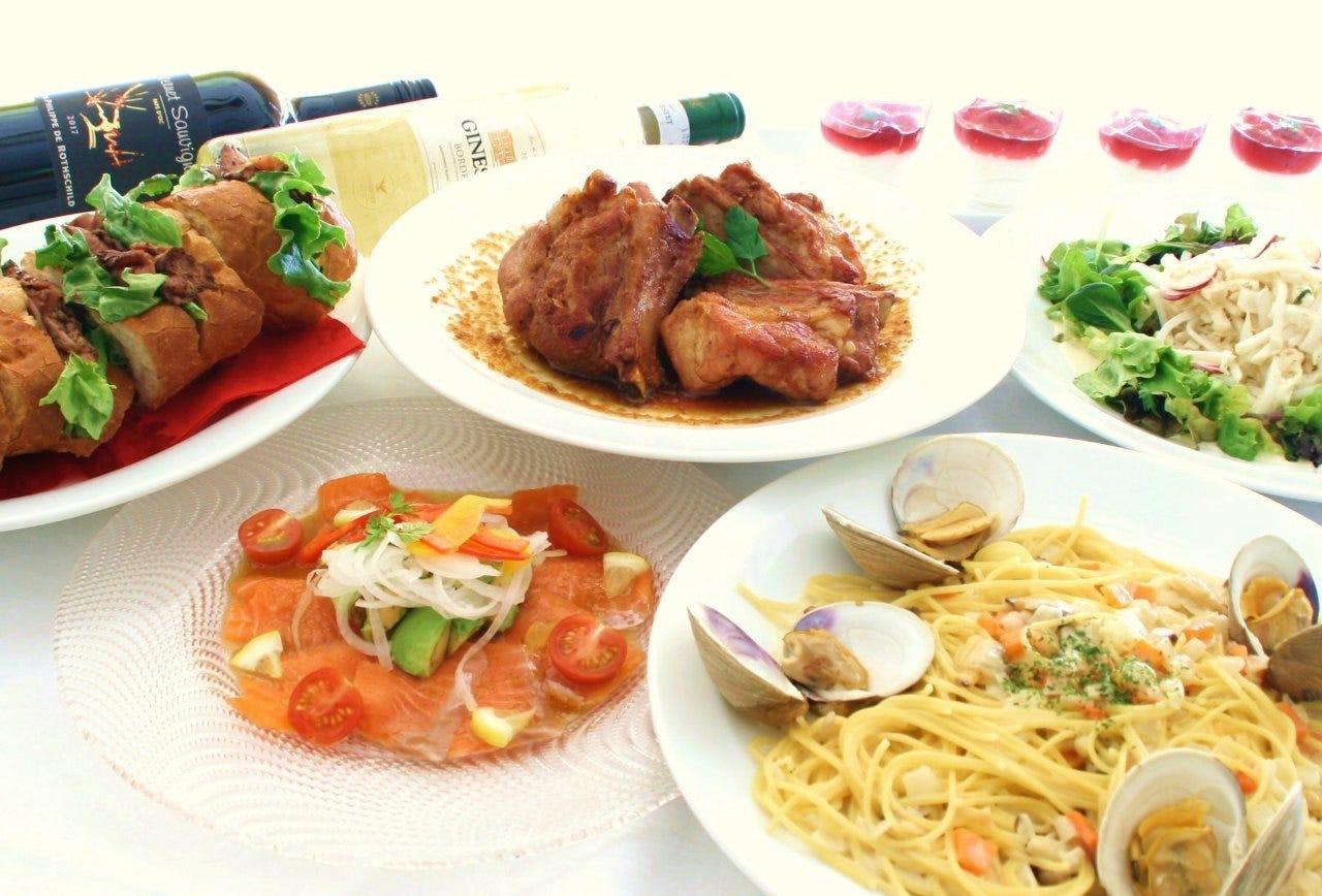 Party★【Shore Course-ショアコース-】料理+飲み放題2時間