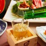 [旬の日本酒] 季節の地酒を多彩にご用意!ちょい飲みにも◎