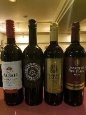 グラスワインも充実!