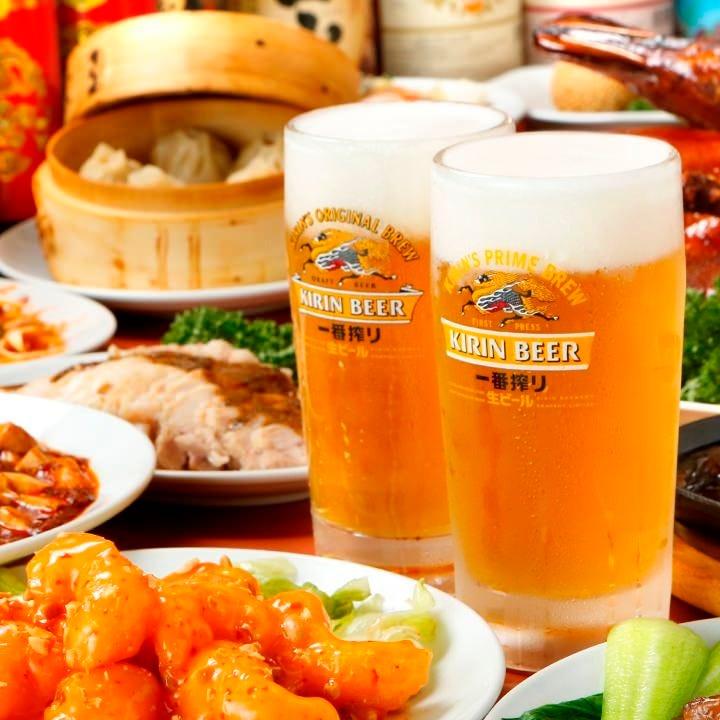 歓送迎会はお得な中華で!! 各種ご宴会最大65名様まで可能