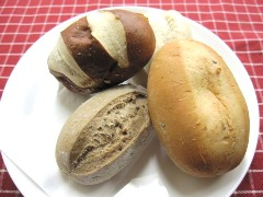 ドイツパンの盛り合わせ
