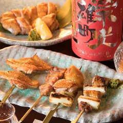 名物!比内地鶏の焼き鳥(串焼き)