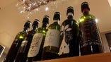 自然派を中心としたワインは、お料理との相性も抜群です。