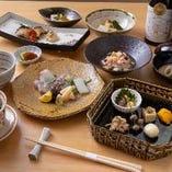 【接待・会食に】京懐石を堪能できる 全7品 《8,500円》