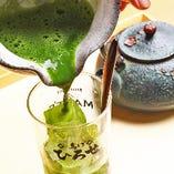 茶舗の抹茶使用!名物「生茶ハイ」 風味豊かな味わい☆