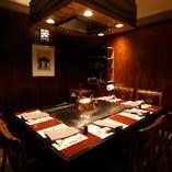 接待やご会食にも最適な完全個室は2〜6名様までご利用可能