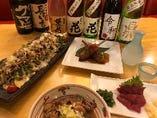 お酒・お料理(一例)