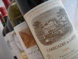 世界のワインもお楽しみ下さい。