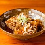 肉染み肉豆腐