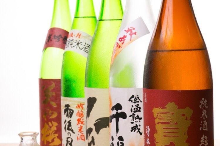 広島の地酒を味わう