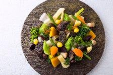 野菜の美味しさを伝える献立