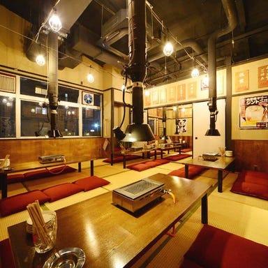飛騨牛ホルモン焼肉酒場 フジ山 多治見店 店内の画像