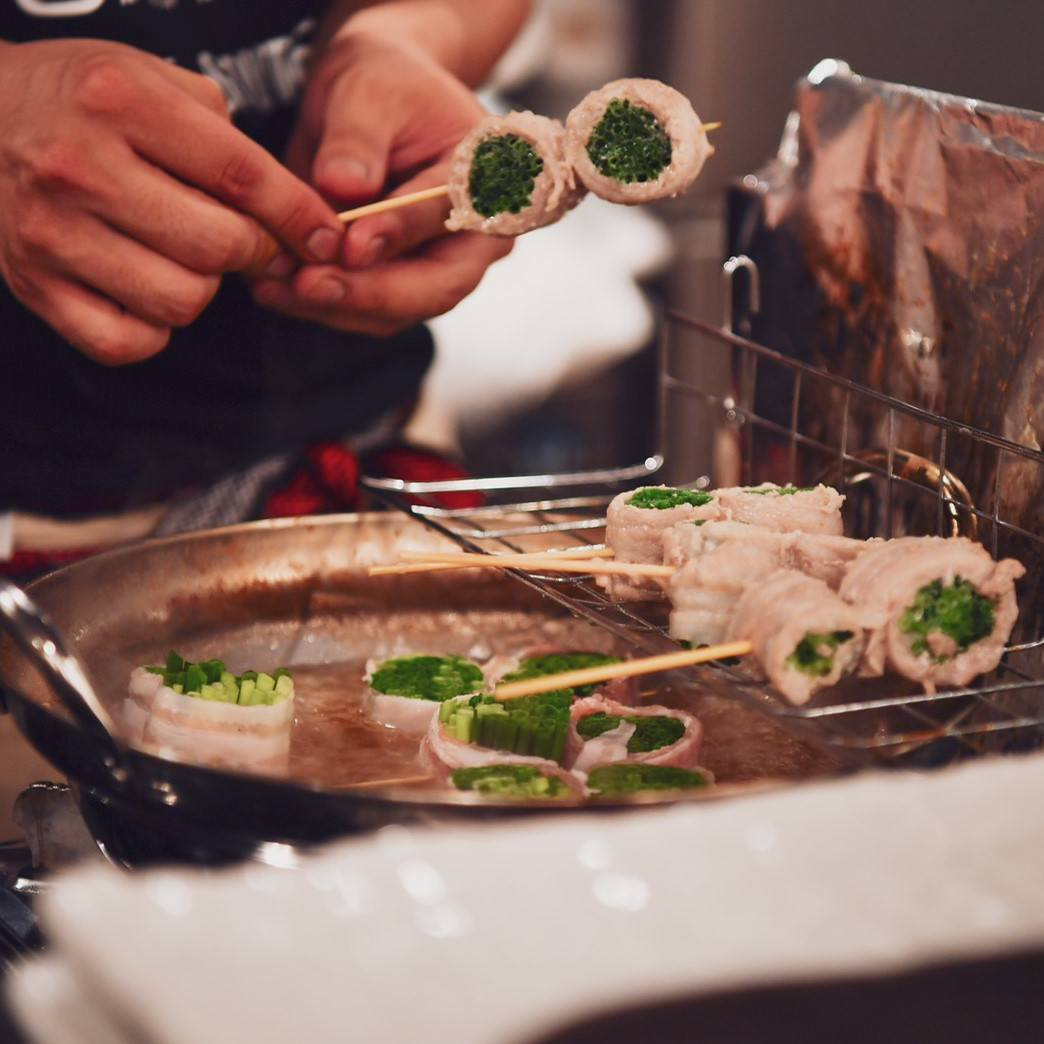 素材の旨味が楽しめる「串焼き」