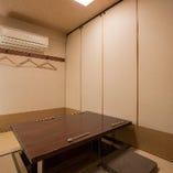 堀りごたつ個室のお部屋