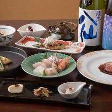 旬のおまかせ和食コース 5,500円
