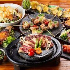 本格九州料理を堪能できるコースは3500円~!
