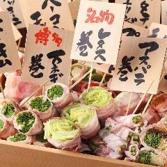 博多野菜巻き串 餃子 こだわり酎ハイ きじょうもん 静岡呉服町