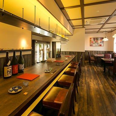 近江八幡 日本酒BAR masu/masu  店内の画像