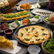 【人気のアテが大集合】『masu/masuコース』(全9品)│宴会・忘年会