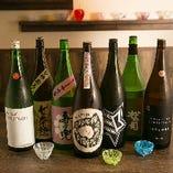 一緒に楽しむ飲み放題のメインは日本酒!その数約25種 or 約70種!