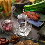 日本酒と組み合わせることで完成する味わいを堪能!