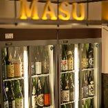 ズラリ並んだ日本酒はその数【200種】以上!