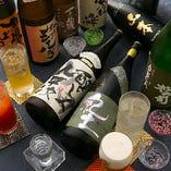 滋賀&全国の地酒【約70種】含む!プレミアム飲み放題