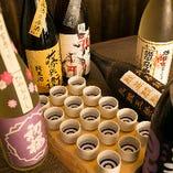 滋賀県の地酒を、一気に15種も楽しめる飲み比べセットをご用意!