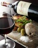 【ワインのお供に・・】 こだわり料理の数々・・