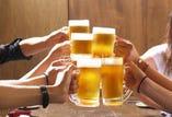 アルコール飲み放題  1,500円(税込1,650円)
