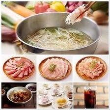 3種食べ放題ランチ~土日祝70分/平日100分