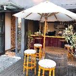 [ペットOK] お散歩途中のカフェ利用にテラス席が便利