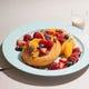 スペシャルフルーツの玄米ギルトフリーパンケーキ