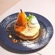 まるごと洋梨のブリュレパンケーキ