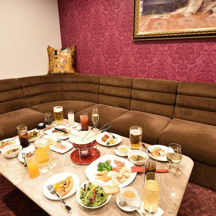 【3時間飲み放題付】4,000円コース<全7品>4名様ごとの盛り合わせでご提供!飲み会・宴会・女子会・貸切