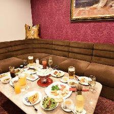 【3時間飲み放題付】4,000円コース<全7品>料理はおひとり様ずつご提供!飲み会・宴会・女子会・貸切