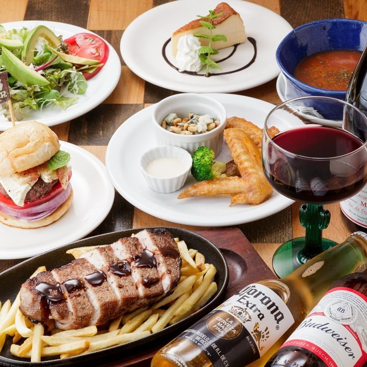 選べるステーキディナーでパーティ!