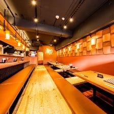 こだわり空間でおいしい料理とお酒