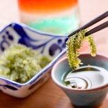 沖縄料理の定番 海ぶどう