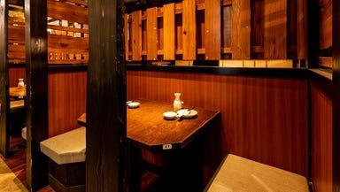 個室居酒屋 炭火焼鳥 小江戸鳥や 大森駅前店 店内の画像