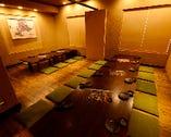 18~25名様の個室です。最大25名様までお使いになれます。