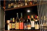 ワイン、ビール、日本酒、カクテル。お酒の種類も豊富です!