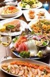 厳選された食材から作られる、絶品料理の数々!