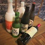お酒の種類豊富に取り揃えています、