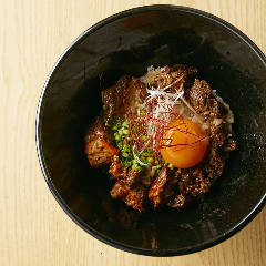 カルビTKG(卵かけご飯)