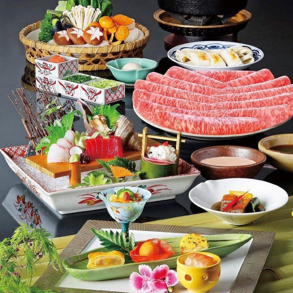 しゃぶしゃぶと日本料理の見事な調和